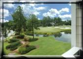 Balcony View of 15th Green at Magnolia